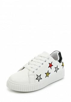 Кеды, Fashion & Bella, цвет: белый. Артикул: FA034AWAWDS0. Обувь / Кроссовки и кеды