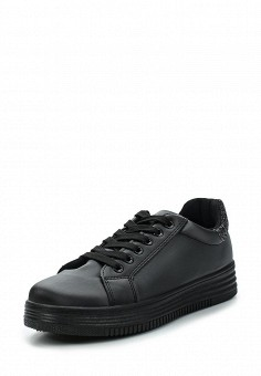 Кеды, Fashion & Bella, цвет: черный. Артикул: FA034AWAWDT4. Обувь / Кроссовки и кеды