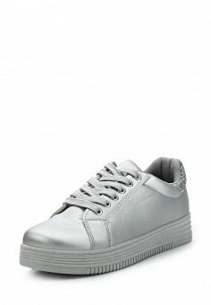 Кеды, Fashion & Bella, цвет: серый. Артикул: FA034AWAWDT5. Обувь / Кроссовки и кеды