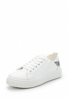 Кеды, Fashion & Bella, цвет: белый. Артикул: FA034AWAWDT7. Обувь / Кроссовки и кеды