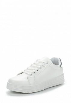 Кеды, Fashion & Bella, цвет: белый. Артикул: FA034AWAWDT8. Обувь / Кроссовки и кеды