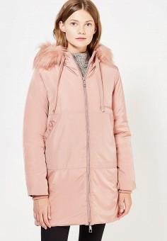 Куртка утепленная, Fascinate, цвет: розовый. Артикул: FA042EWWRT30. Одежда / Верхняя одежда