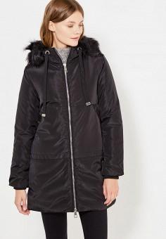 Куртка утепленная, Fascinate, цвет: черный. Артикул: FA042EWWRT32. Одежда / Верхняя одежда