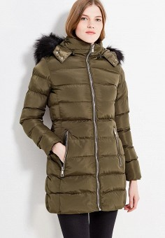 Куртка утепленная, Fascinate, цвет: зеленый. Артикул: FA042EWWRT35. Одежда / Верхняя одежда