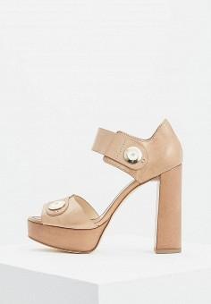 Босоножки, Fabi, цвет: коричневый. Артикул: FA075AWZTN24. Premium / Обувь / Босоножки