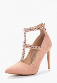 Туфли, Fersini, цвет: розовый. Артикул: FE016AWBAPC7. Обувь / Туфли / Закрытые туфли