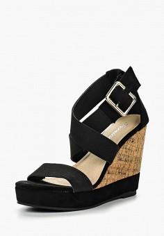 Босоножки, Fersini, цвет: черный. Артикул: FE016AWIHQ99. Обувь / Босоножки