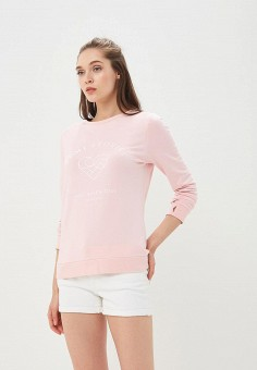 Свитшот, Femi Stories, цвет: розовый. Артикул: FE027EWBNQF2. Одежда / Толстовки и свитшоты