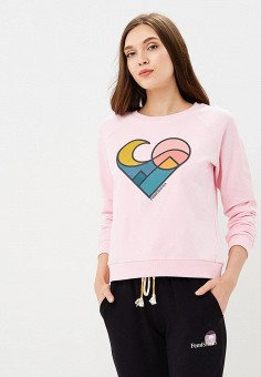 Свитшот, Femi Stories, цвет: розовый. Артикул: FE027EWBNQF5. Одежда / Толстовки и свитшоты