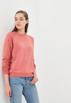 Свитшот, Femi Stories, цвет: розовый. Артикул: FE027EWBQQN7. Одежда / Толстовки и свитшоты