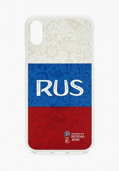 Чехол для iPhone, 2018 FIFA World Cup Russia™, цвет: мультиколор. Артикул: FI029BUBOYS9. World Cup / Чехлы для телефона