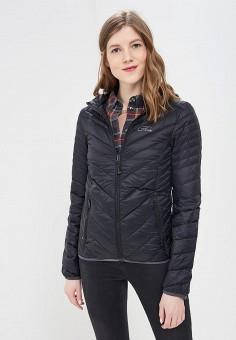Пуховик, Five Seasons, цвет: черный. Артикул: FI615EWBGDC5. Одежда / Верхняя одежда / Пуховики и зимние куртки
