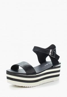 Босоножки, Flyfor, цвет: черный. Артикул: FL009AWBLRX1. Обувь / Босоножки