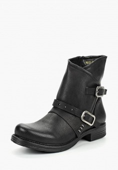 Полусапоги, Flyfor, цвет: черный. Артикул: FL009AWCNMR5. Обувь