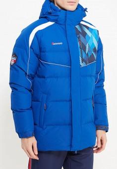 Пуховик, Forward, цвет: синий. Артикул: FO007EMYOU58. Одежда / Верхняя одежда / Пуховики и зимние куртки