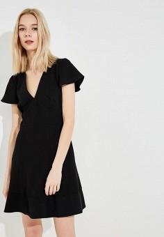 Платье, French Connection, цвет: черный. Артикул: FR003EWAILT7. Premium / Одежда / Платья и сарафаны