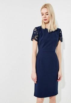 Платье, French Connection, цвет: синий. Артикул: FR003EWAILT8. Premium / Одежда / Платья и сарафаны