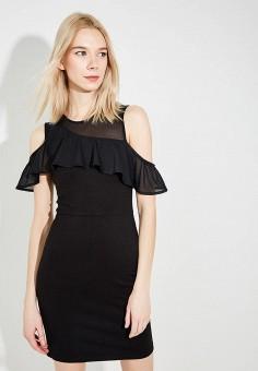 Платье, French Connection, цвет: черный. Артикул: FR003EWAILU0. Premium / Одежда / Платья и сарафаны