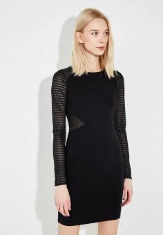 Платье, French Connection, цвет: черный. Артикул: FR003EWAILU2. Premium / Одежда / Платья и сарафаны