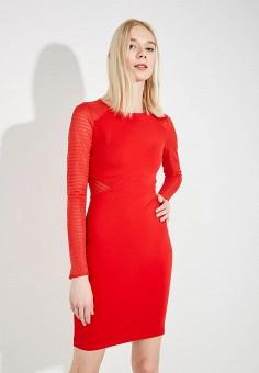 Платье, French Connection, цвет: красный. Артикул: FR003EWAILU3. Premium / Одежда / Платья и сарафаны