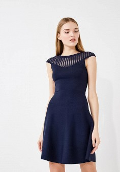 Платье, French Connection, цвет: синий. Артикул: FR003EWAILU5. Premium / Одежда / Платья и сарафаны