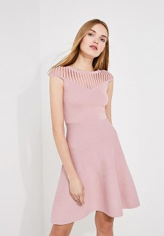 Платье, French Connection, цвет: розовый. Артикул: FR003EWAILU6. Premium / Одежда / Платья и сарафаны