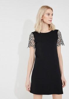 Платье, French Connection, цвет: черный. Артикул: FR003EWAILY7. Premium / Одежда / Платья и сарафаны