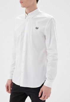 Рубашка, Fred Perry, цвет: белый. Артикул: FR006EMZZX42. Fred Perry