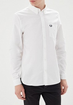 Рубашка, Fred Perry, цвет: белый. Артикул: FR006EMZZX44. Fred Perry