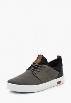 Кеды, Front By Ascot, цвет: серый. Артикул: FR009AMANCR4. Обувь / Кроссовки и кеды / Кеды