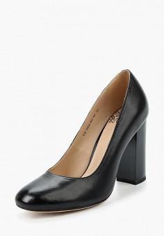 Туфли, Francesco Donni, цвет: черный. Артикул: FR034AWALKV5. Обувь / Туфли / Закрытые туфли