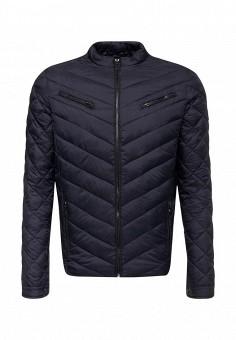 Пуховик, Fresh Brand, цвет: синий. Артикул: FR040EMYDM26. Мужская одежда / Верхняя одежда / Пуховики и зимние куртки