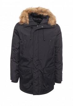 Куртка утепленная, Fresh Brand, цвет: синий. Артикул: FR040EMZXY56. Мужская одежда / Верхняя одежда / Пуховики и зимние куртки