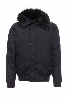 Куртка утепленная, Fresh Brand, цвет: синий. Артикул: FR040EMZXY58. Мужская одежда / Верхняя одежда / Пуховики и зимние куртки