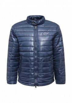 Куртка утепленная, Frank NY, цвет: синий. Артикул: FR041EMKVM56. Мужская одежда / Верхняя одежда / Пуховики и зимние куртки