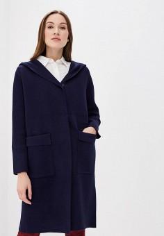 Пальто, Fresh Cotton, цвет: синий. Артикул: FR043EWBBCI3. Одежда / Верхняя одежда / Пальто