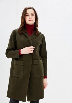 Пальто, Fresh Cotton, цвет: зеленый. Артикул: FR043EWBBCI4. Одежда / Верхняя одежда / Пальто
