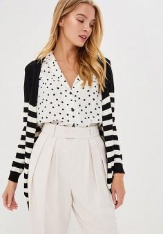 Кардиган, Fresh Cotton, цвет: черный. Артикул: FR043EWBSFM6. Одежда