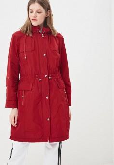 Парка, Freda, цвет: красный. Артикул: FR051EWBKYD9. Одежда / Верхняя одежда / Парки