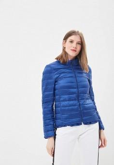 Пуховик, Freda, цвет: синий. Артикул: FR051EWBKYG9. Одежда / Верхняя одежда / Зимние куртки