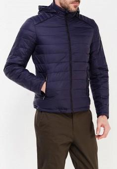 Пуховик, Fresh, цвет: синий. Артикул: FR948EMVDV22. Одежда / Верхняя одежда / Пуховики и зимние куртки