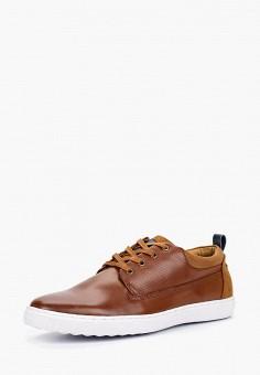Кеды, Galax, цвет: коричневый. Артикул: GA016AMCBEW1. Обувь / Кроссовки и кеды / Кеды