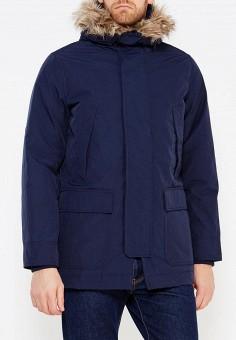 Парка, Gap, цвет: синий. Артикул: GA020EMTLY07. Одежда / Верхняя одежда / Пуховики и зимние куртки
