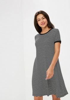 Платье, Gap, цвет: мультиколор. Артикул: GA020EWCGDO7. Одежда / Платья и сарафаны