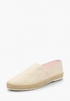 Эспадрильи, Gant, цвет: бежевый. Артикул: GA121AWADLC4. Обувь