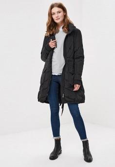 Пуховик, Gas, цвет: черный. Артикул: GA340EWCARK9. Одежда / Верхняя одежда / Зимние куртки