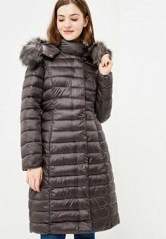 Куртка утепленная, Gaudi, цвет: коричневый. Артикул: GA629EWCGAI0. Одежда / Верхняя одежда / Зимние куртки
