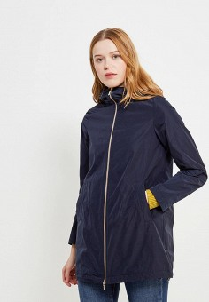 Куртка, Geox, цвет: синий. Артикул: GE347EWAOEN5. Одежда / Верхняя одежда / Парки
