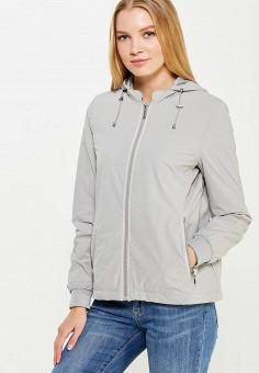 Ветровка, Geox, цвет: серый. Артикул: GE347EWPCY87. Одежда / Верхняя одежда