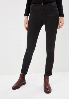 Джинсы, G&G, цвет: черный. Артикул: GG001EWCMAB2. Одежда / Джинсы